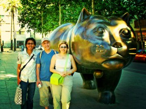 Botero's Cat & Good Friends de Moriza