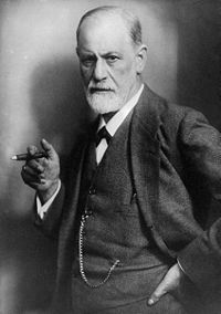 Sigmund Freud l'any 1920