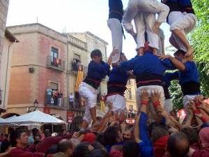 Castellers de St. Pere i St. Pau, 5 de 7 -1, de Ferran Llorens
