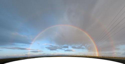 """Foster City Double Rainbow"", de Peter Kaminski"