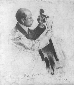 Pau Casals, de Ferdinand Schumutzer, a la Viquipèdia