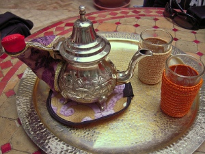 """Moroccan food and drink - mint tea"", de Michal Osmenda"