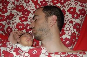 """""""Durmiendo con papá"""", de Mikel Seijas Alonso"""