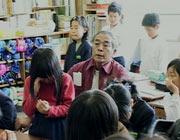 El mestre Toshiro Kanamori dóna clase als seus alumnes