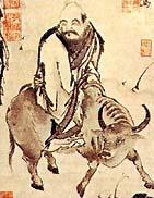 Laozi muntant un búfal d'aigua, a la Viquipèdia