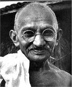 Mohandas K. Gandhi a la Wikimedia Commons