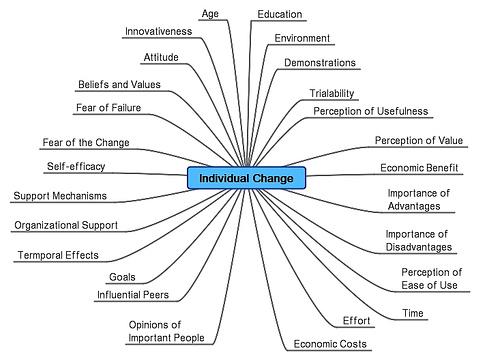 Factors que afecten els canvis individuals