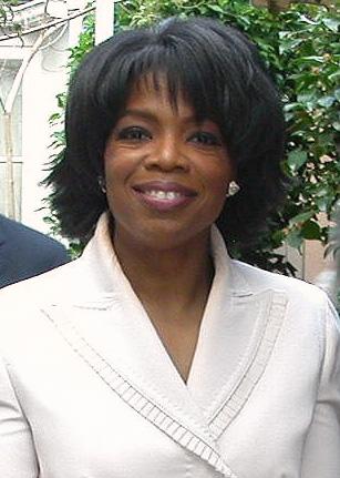 Oprah Winfrey a la festa del seu 50è aniversari a l'hotel Bel Air