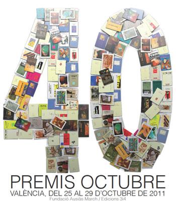40 Premis Octubre, octubre 2011