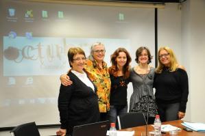 40 Premis Octubre, 2011, DONES3.0, Amparo Moreno, Sophia Blasco, Laia Climent, Cristina Aced i Marika Vila