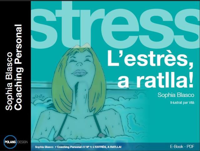 L'estrès, a ratlla! 2a edició, portada