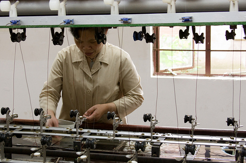 Silk Factory, de Daniel Foster