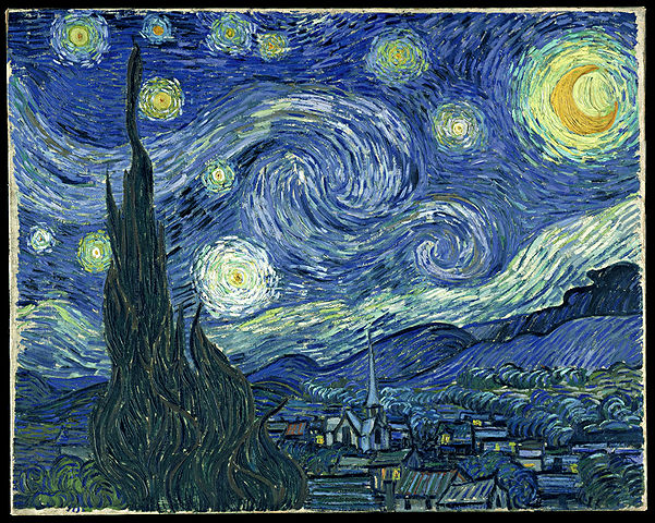 De Sterrennacht, de Vincent Van Gogh