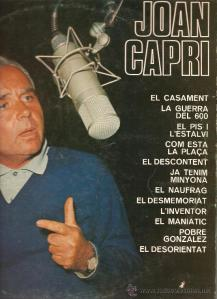Joan Capri, portada del doble LP editat per Discos Ariola l'any 1972