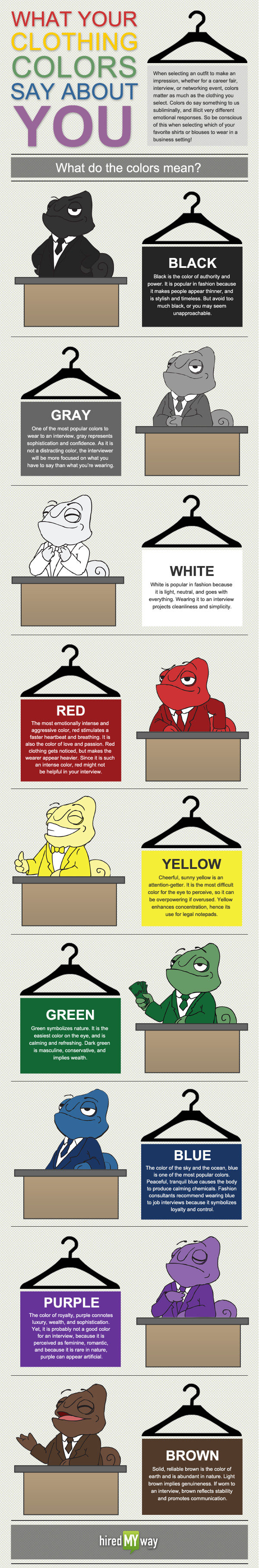 ClothingColor_Inforgraphic, de hiredmyway