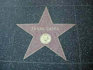 La stella di Frank Capra sulla Hollywood Walk of Fame, a la Viquipèdia en italià