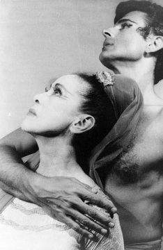 Retrat de Martha Graham i Bertram Ross, juny de 1961, de Carl Van Vechten, a la Viquipèdia