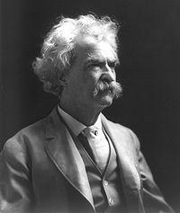 Mark Twain ,1907, a la Viquipèdia