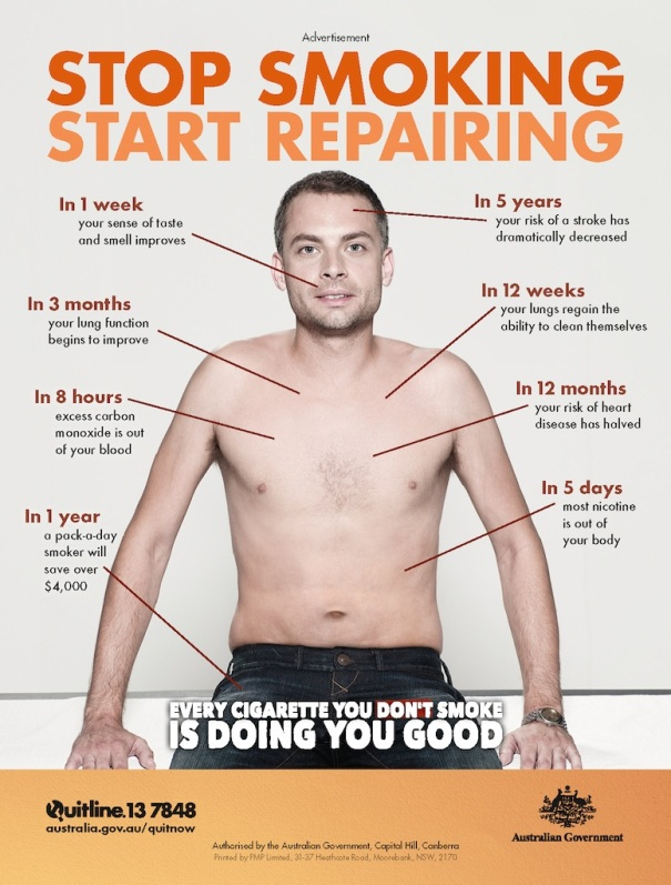 Stop Smoking Start Reparing male