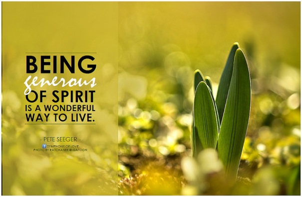 "Pete Seeger: ""Being generous of spirit is a wonderful way to live"", de BK, al Flickr"