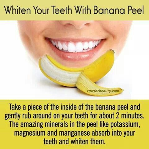 """Whiten Your Teeth With Banana Peel"", de Hannah Eberhardt, a Hair Skin and Nails"
