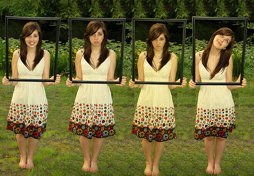 """Nicole's Many Emotions"", d'Ally Aubry, al Flickr"