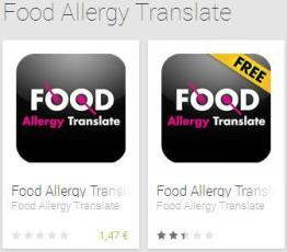 App Food Allergy Translate