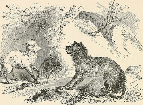 """Image from page 51 of The book of fables, chiefly from Aesop, 1882"", d'Internet Archive Book Image, al Flickr"