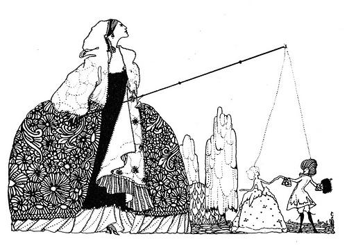 """The fairy tales of Charles Perrault (1922)"", il·lustració de Harry Clarke, de CircaSassy, al Flickr"