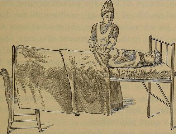 """Image from page 97 of A handbook of obstetrical nursing for nurses, students, and mothers"", a Flickr"