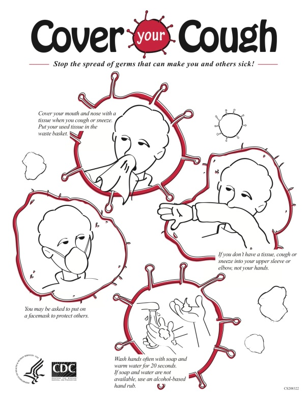 """Cover your Cough"" by CDC"