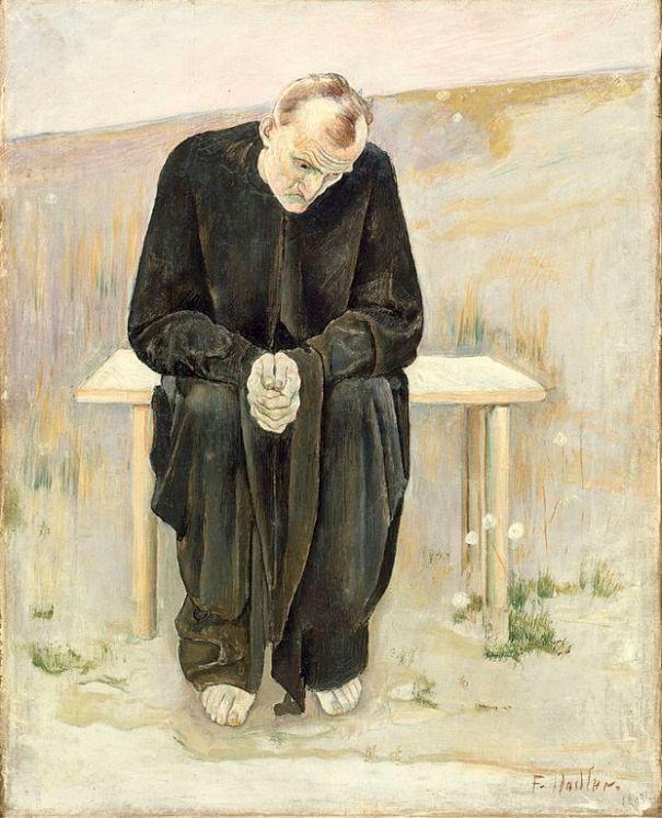 The Disillusioned One, de Ferdinand Hodler, Viquipèdia