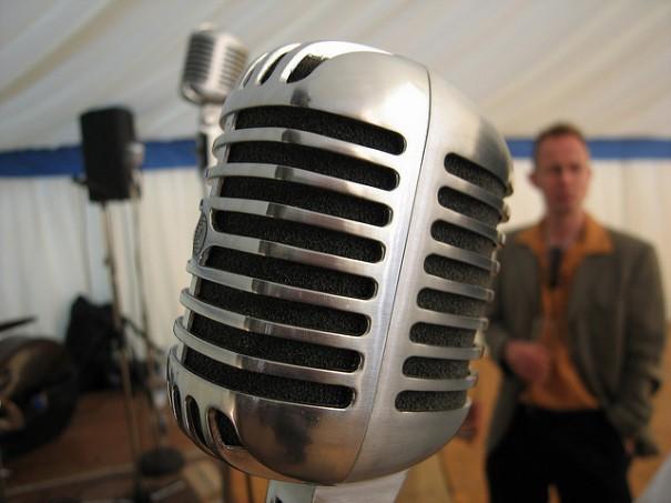 Microphone, de Ben Dalton, Flickr
