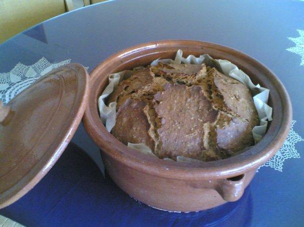El pa dins la cassola