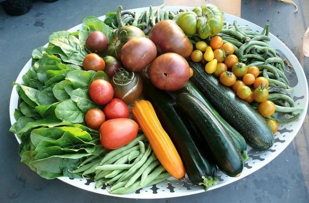Erbette, fagiolini, zucchine e pomodori, de nociveglia, al Flickr