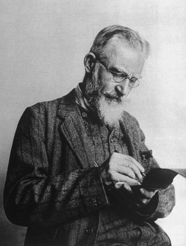 George Bernard Shaw, a la Viquipèdia
