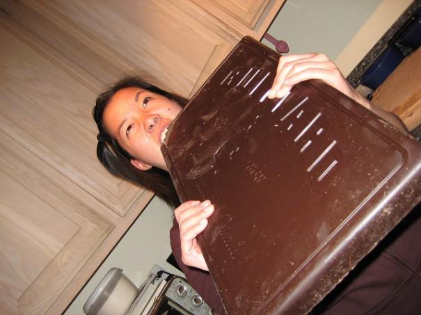 """""""Eating chocolate"""", de 10 Corso Como, al Flickr"""