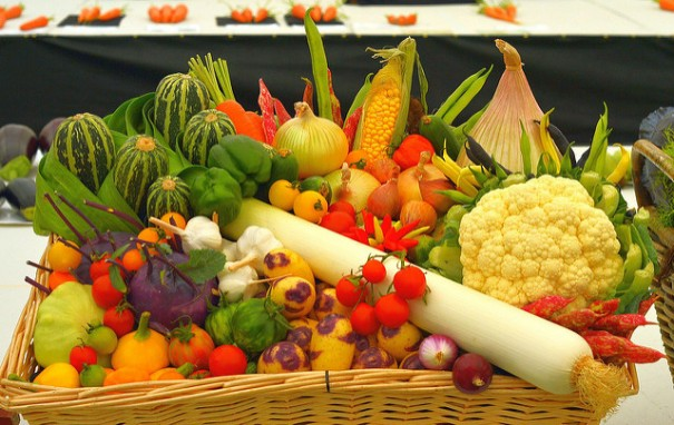 """Basket of Veg"", de Micolo J, al Flickr"