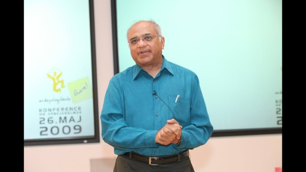 Srikumar Rao a Arbejdsglaede Live 2009
