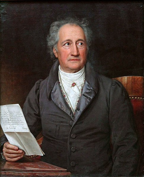 Goethe, de Stieler, a la Viquipèdia